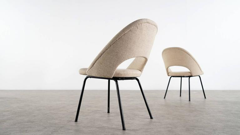 Mid-Century Modern Eero Saarinen, Executive Chair by Knoll International with Kvadrat For Sale