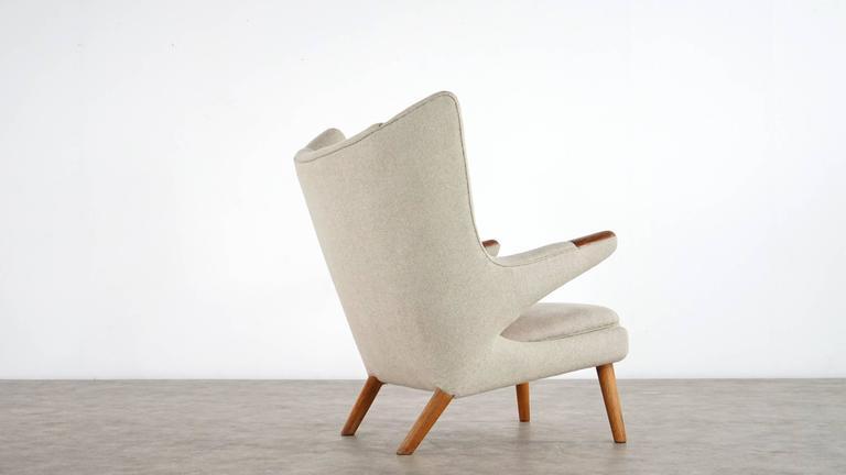 hans j wegner papa bear easy chair by ap stolen model. Black Bedroom Furniture Sets. Home Design Ideas