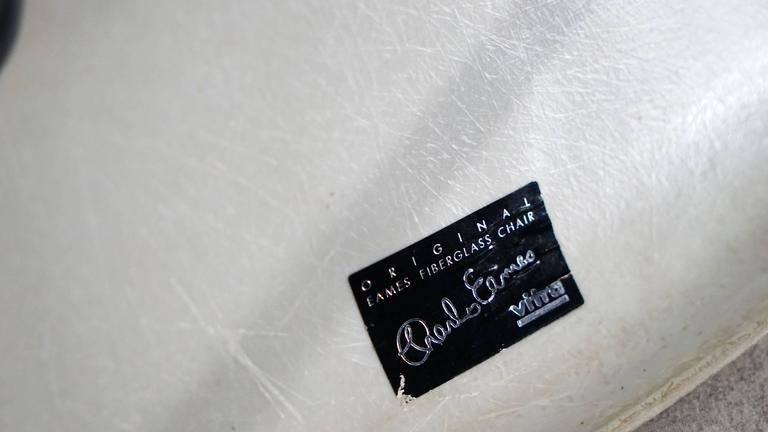 Charles Eames, Rare Set of Four Siede Chairs, Fehlbaum Prod, Vitra Etc 6