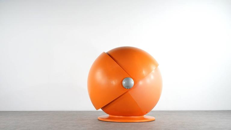 Sunball Chair by Rosenthal, Design 1969 Selldorf & Rijs, Made in Germany For Sale 1