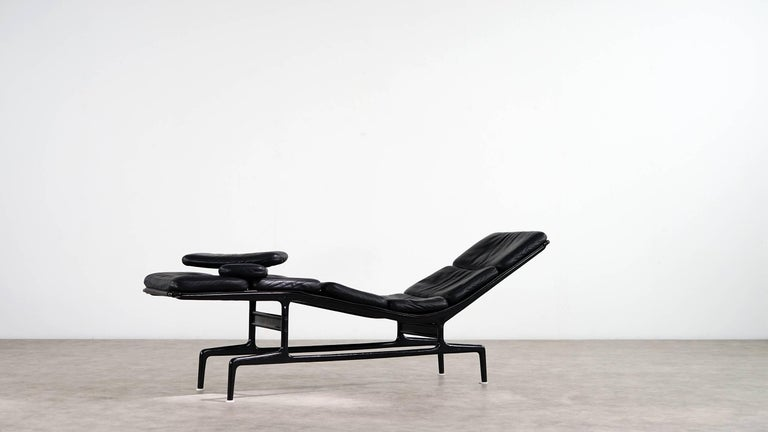 Charles Eames Softpad Chaise, Daybed 1968 Herman Miller for Billy Wilder 6