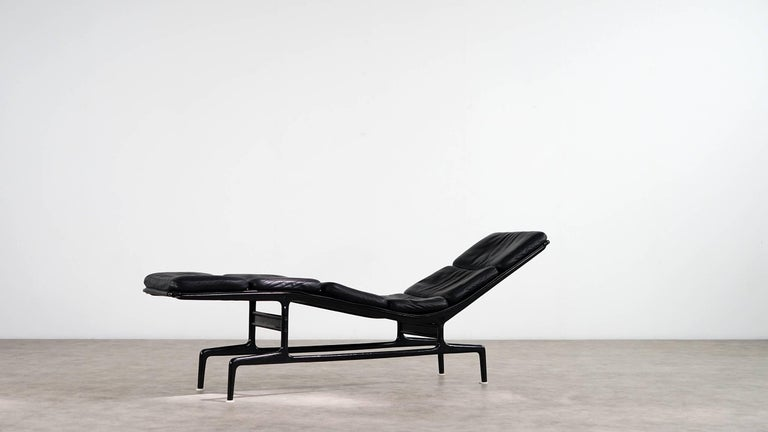 Charles Eames Softpad Chaise, Daybed 1968 Herman Miller for Billy Wilder In Excellent Condition For Sale In Munster, NRW