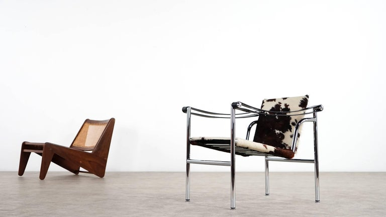 Le Corbusier, Pierre Jeanneret & Charlotte Perriand, 1928, LC1 Chair by Cassina 3