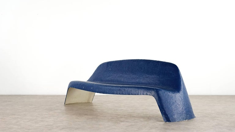Mid-Century Modern Walter Papst, Bench 1967 for Wilkhahn, Germany