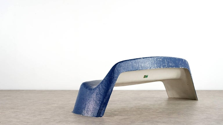 Mid-20th Century Walter Papst, Bench 1967 for Wilkhahn, Germany
