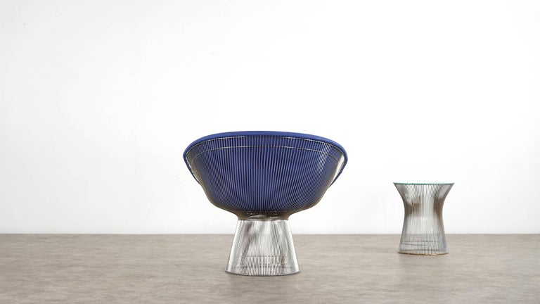Mid-20th Century Warren Platner Lounge Chair, 1966 for Knoll International For Sale