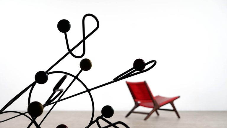 French Roger Ferraud 'Cle de Sol' Coat Stand / Hang it All eames, Paris, France 1960 For Sale