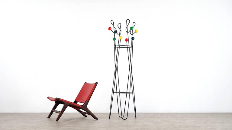 Mid-20th Century Roger Ferraud 'Cle de Sol' Coat Stand / Hang it All eames, Paris, France 1960 For Sale