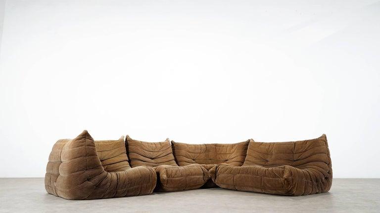 Togo sofa - Michel Ducaroy for Ligne Roset - giant landscape - 1974, manufactured in