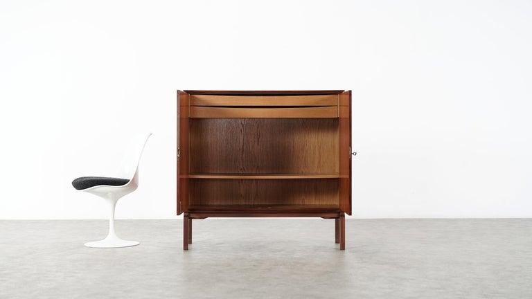 Danish Teak Sideboard, Denmark 1965 Chest Arne Vodder like Drawers Midcenturymodern For Sale