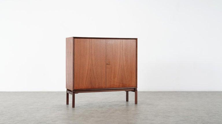 Mid-20th Century Teak Sideboard, Denmark 1965 Chest Arne Vodder like Drawers Midcenturymodern For Sale