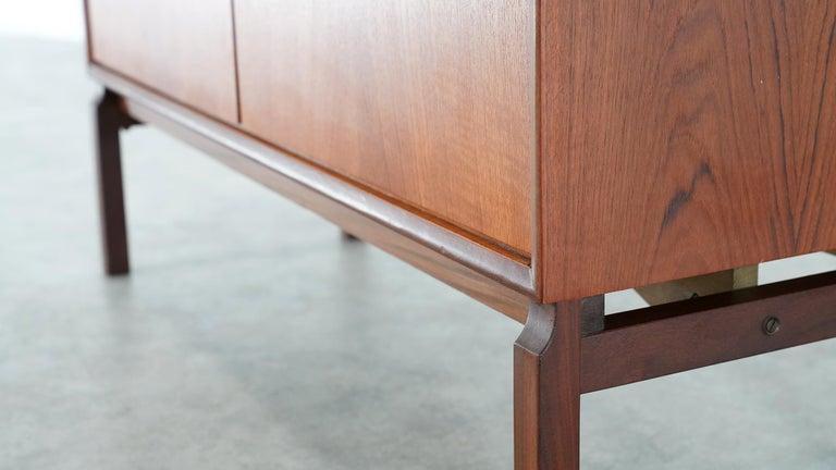 Teak Sideboard, Denmark 1965 Chest Arne Vodder like Drawers Midcenturymodern For Sale 1