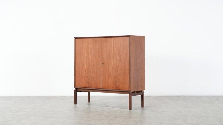 Teak Sideboard, Denmark 1965 Chest Arne Vodder like Drawers Midcenturymodern For Sale 2