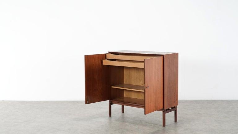 Teak Sideboard, Denmark 1965 Chest Arne Vodder like Drawers Midcenturymodern For Sale 6