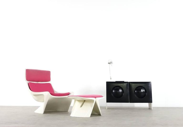 Steen Ostergaard Lounge Chair, Meteor for Cado In Good Condition For Sale In Munster, NRW