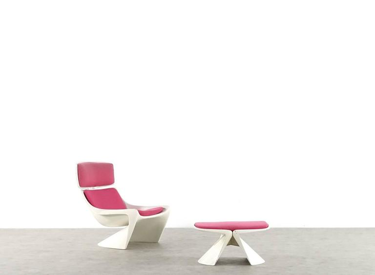 Steen Ostergaard Lounge Chair, Meteor for Cado For Sale 2