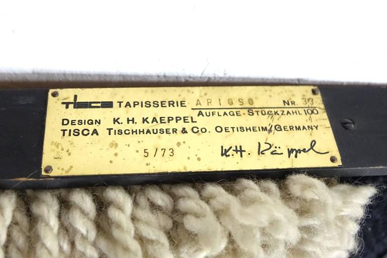 Arioso Tapestry Design K H Kaeppel By Tisca 33 100 For