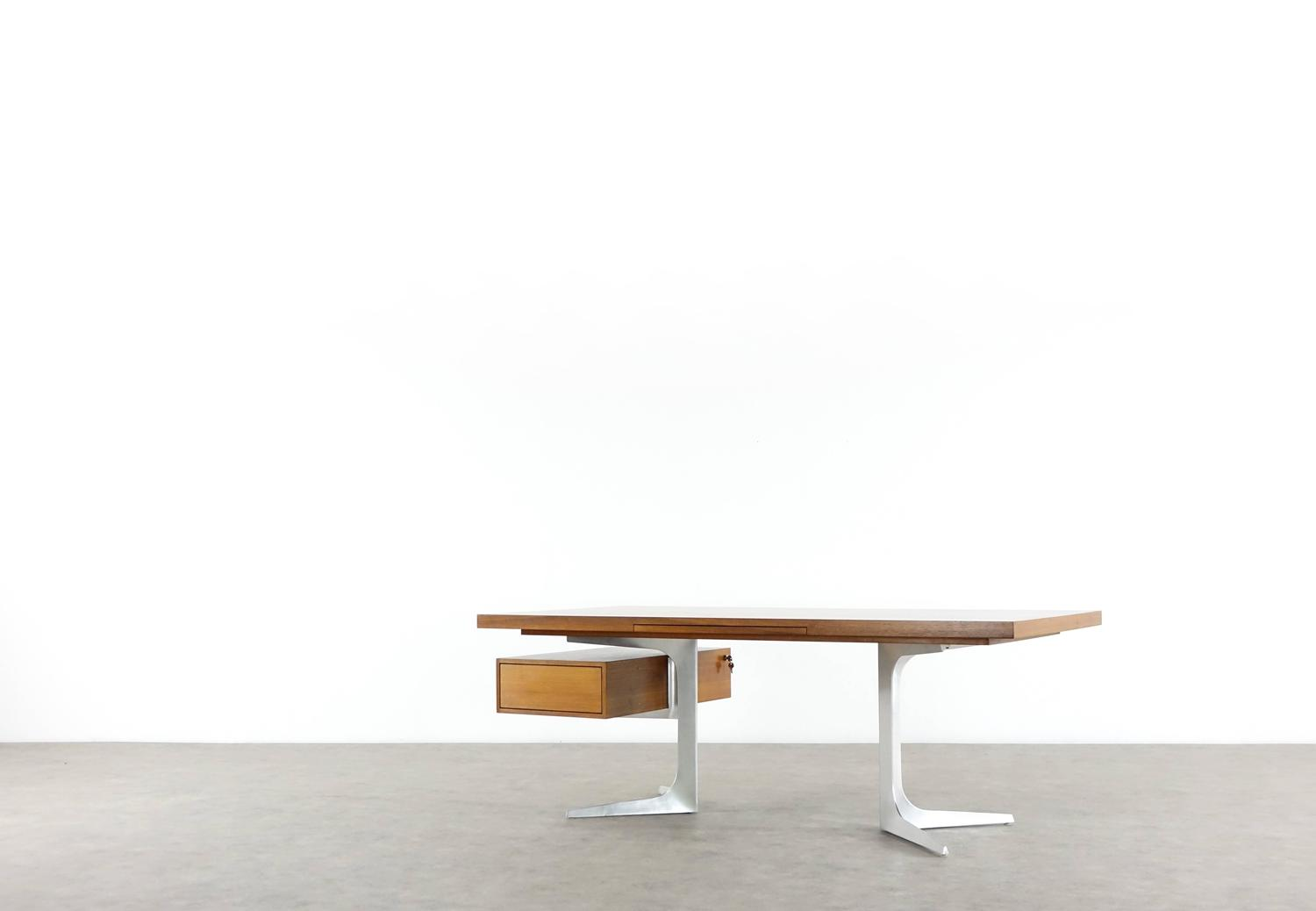 Herbert hirche executive writing desk top series by for Christian holzapfel