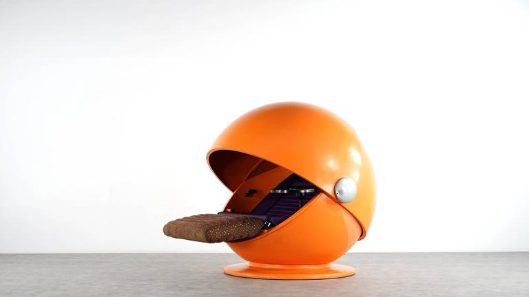 Mid-20th Century Sunball Chair by Rosenthal, Design 1969 Selldorf & Rijs, Made in Germany For Sale