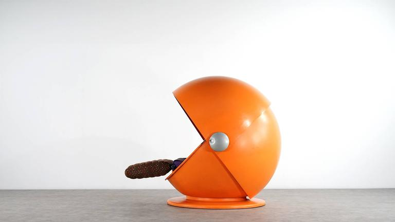 Sunball Chair by Rosenthal, Design 1969 Selldorf & Rijs, Made in Germany In Fair Condition For Sale In Munster, NRW