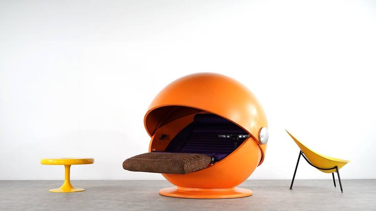 Sunball Chair by Rosenthal, Design 1969 Selldorf & Rijs, Made in Germany For Sale 4