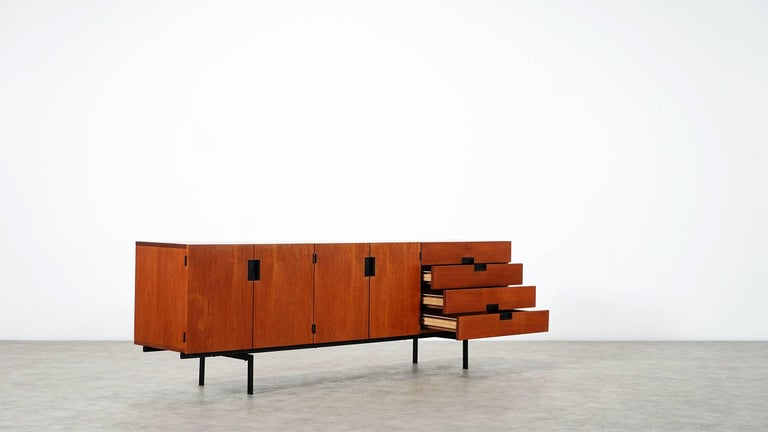 Mid-Century Modern Cees Braakman Japanese Series Du-03 Sideboard for Pastoe, Netherlands, 1955 For Sale