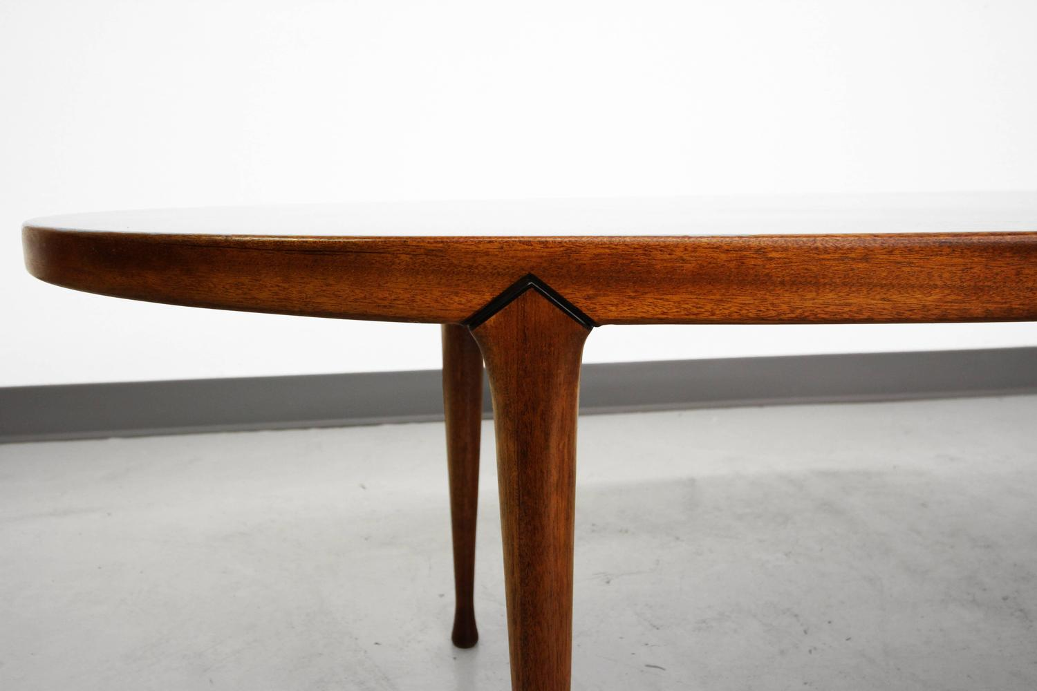 Scandinavian Mid Century Surfboard Coffee Table Made In Norway At 1stdibs