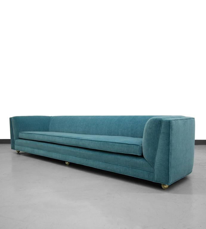 This Is An Absolute Show Stopper Of Mid Century Sofas, 8 Ft. If