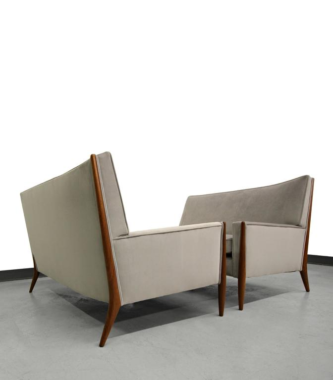 Pair Of Mid Century Sofas By Jules Heumann For Metropolitan