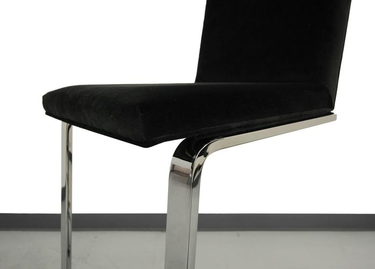 Chrome Cantilever Bar Stool For Sale At 1stdibs