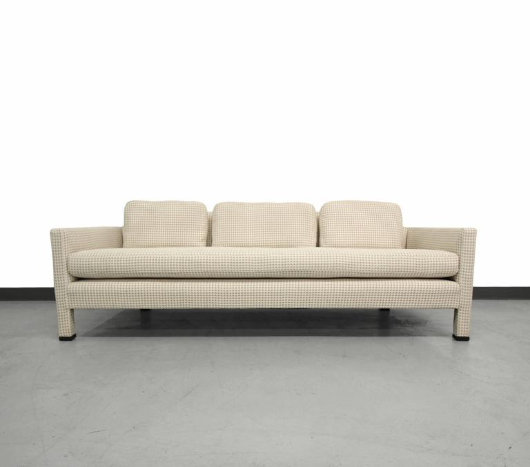 Mid-Century Modern Mid Century Dunbar Sofa Designed by Edward Wormley For Sale