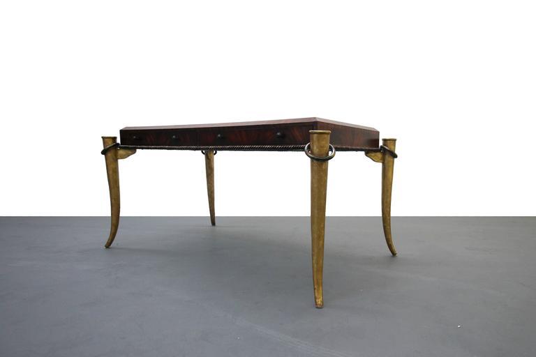 Stunning Gilt Tusk Desk By Maitland Smith At 1stdibs