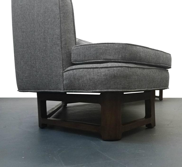 Large Mid-Century Janus Sofa by Edward Wormley for Dunbar For Sale 1