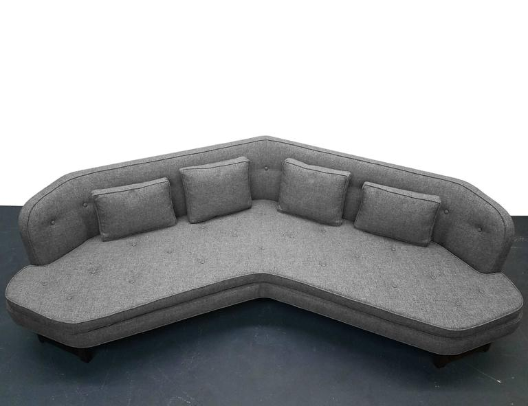 Large Mid-Century Janus Sofa by Edward Wormley for Dunbar In Excellent Condition For Sale In Las Vegas, NV