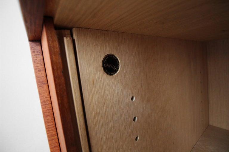 Midcentury Danish Teak Tambour Door