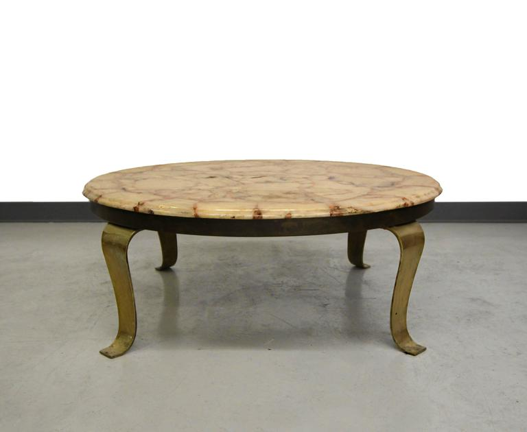 Gorgeous Onyx Coffee Table Designed By Roberto And Mito Block For Muller  Onyx. Table Has