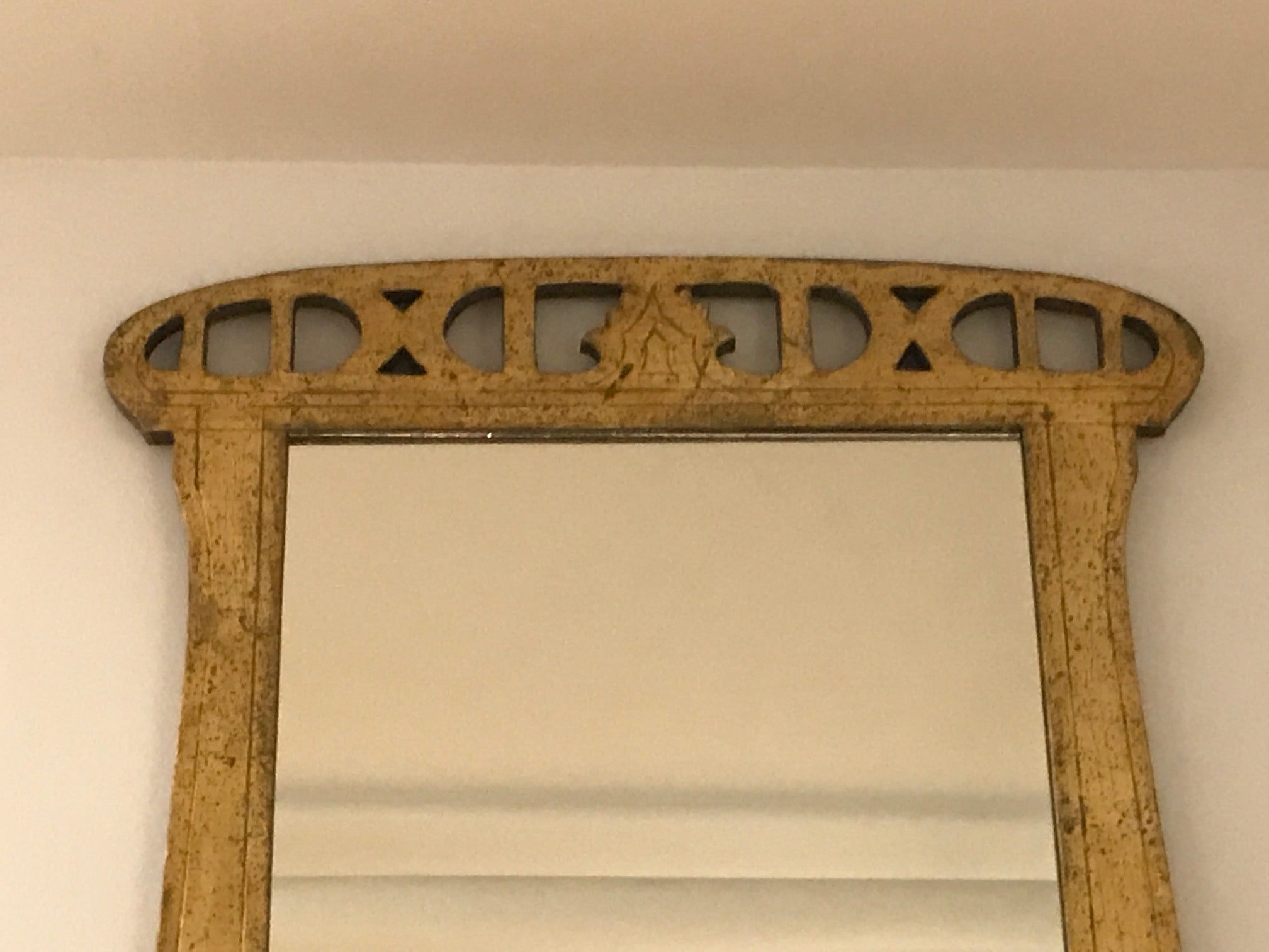 Early 20th Century Art Nouveau Mirror For Sale at 1stdibs