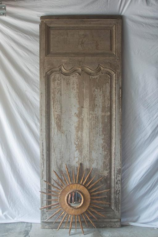 18th Century French Panel Or Door With Soleil At 1stdibs