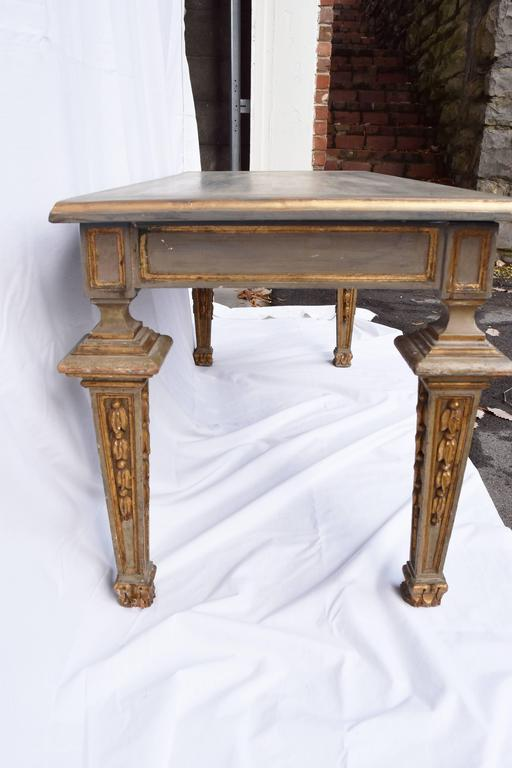 French Louis Vxi Style Painted Coffee Table For Sale At 1stdibs