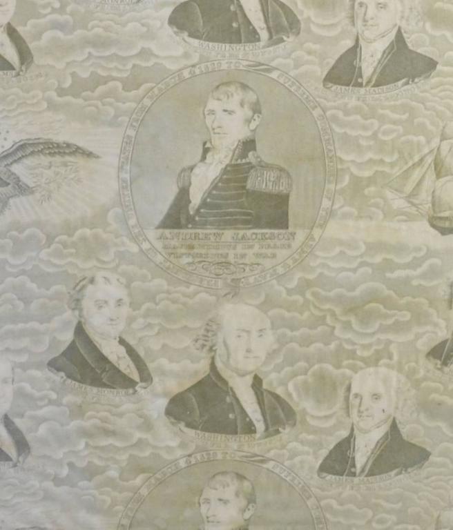 Andrew Jackson Campaign,Textile,President Presidential 4