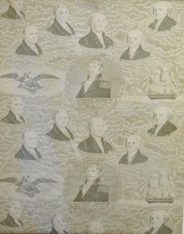 Andrew Jackson Campaign,Textile,President Presidential 6