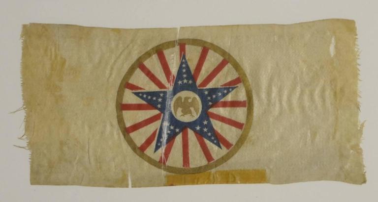 Rare Antique Presidential Campaign Ribbon 3