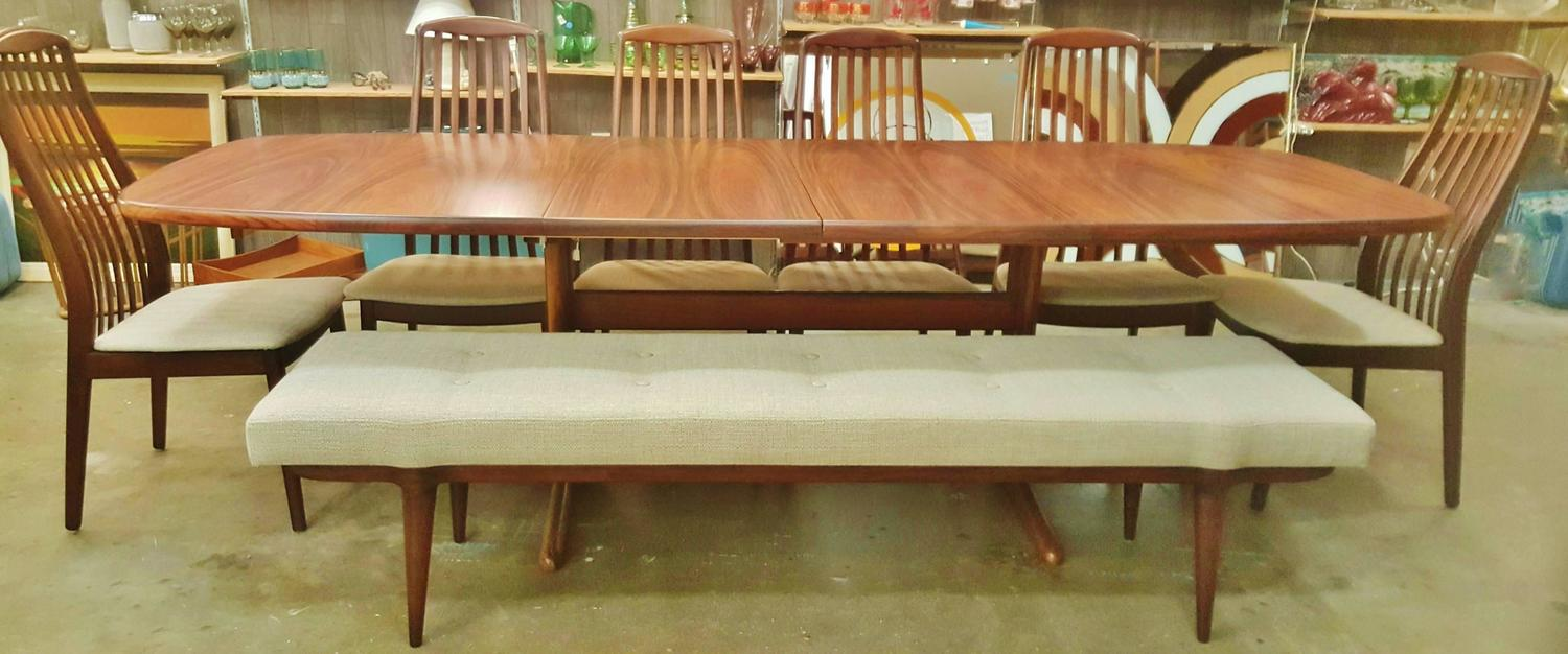 Danish Rosewood Dining Bench Perfect With Our Rosewood