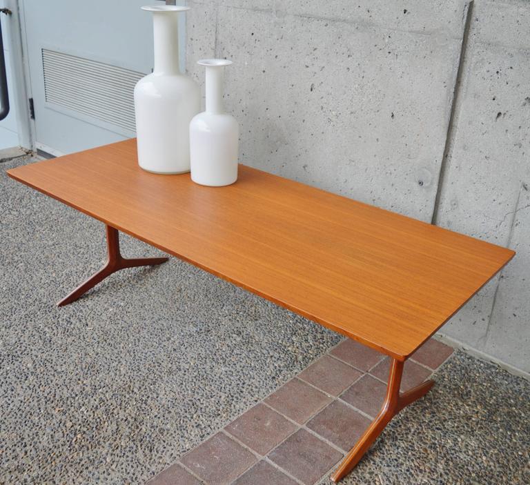 Rare Teak Silver Line Coffee Table by Hvidt & Mølgaard-Nielsen 7