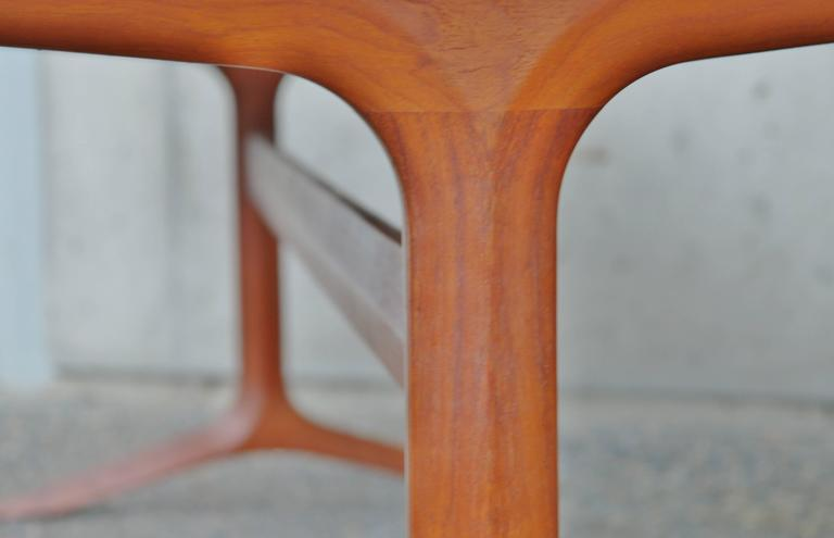Rare Teak Silver Line Coffee Table by Hvidt & Mølgaard-Nielsen 4
