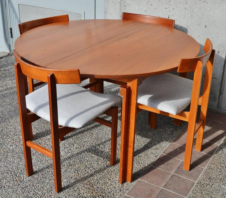 Impeccable Inger Klingenberg Uber Rare Solid Teak Dining Set Of Six Chairs 2