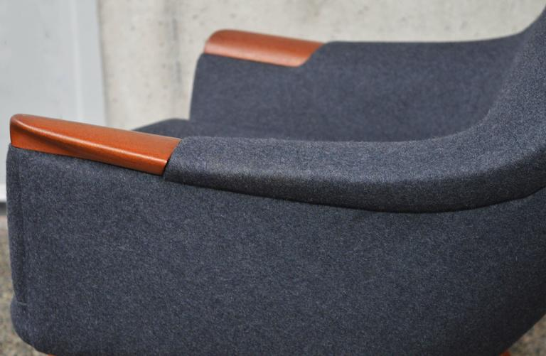 Restored Ingmar Relling Sculptural Lounge Chair And