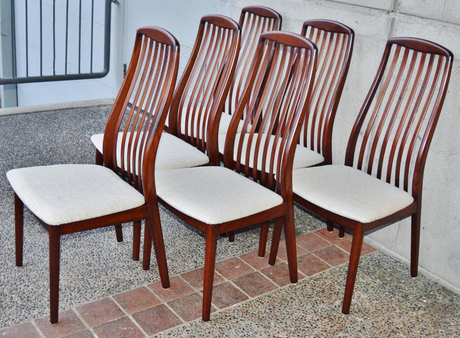 Danish Rosewood Dining Set By Skovby At 1stdibs