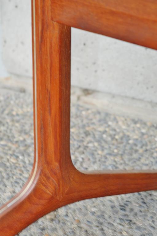 Rare Teak Silver Line Coffee Table by Hvidt & Mølgaard-Nielsen 8