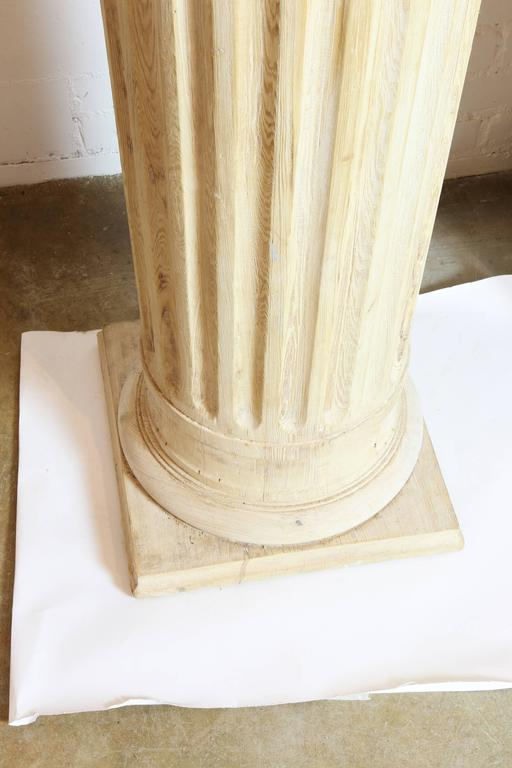 Architectural Pine Columns, Pair In Good Condition For Sale In Austin, TX